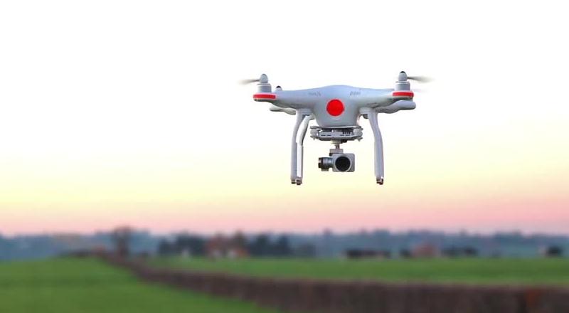 profesjonalne filmowanie dronem DJI PHANTOM 3